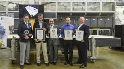 3D printed tool for building aircraft achieves Guinness World Records title