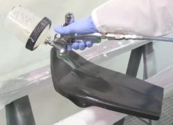 ICR FAF03 carbon fiber clearcoat
