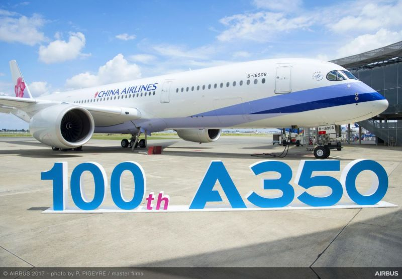 airbus delivers its 100th a350 xwb compositespress