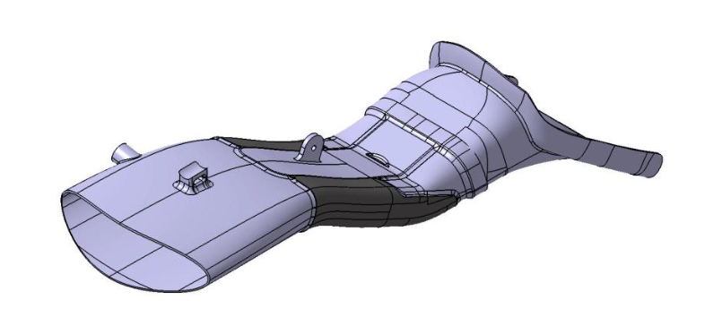CAD files of the front air inlet