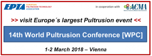 14th World Pultrusion Conference