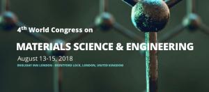 World Congress on Materials Science & Engineering