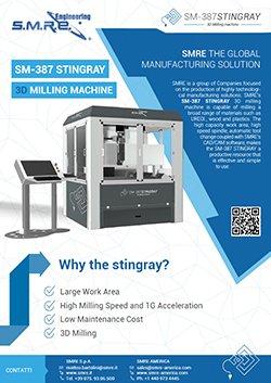 SMRE 3D milling machine brochure