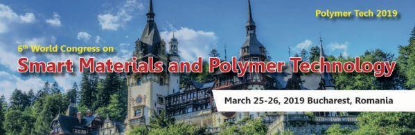 Smart Materials and Polymer Technology congress 2019