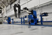 Spirit AeroSystems Robotics inspection