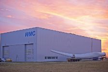 WMC wind turbine blades and rotor test facility