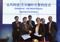 LM Wind Power - wind turbine blades - Goldwind