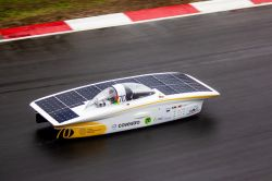 Covestro polyurethane adhesives Solar Car