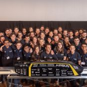 Hyperloop carbon fiber-reinforced plastics