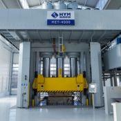 4,000-ton hydraulic press