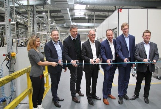 SGL Carbon inaugurates new production hall for graphite-based automotive components at the Bonn site