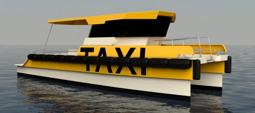 The Agena Taxi Catamaran with AIREX® T92