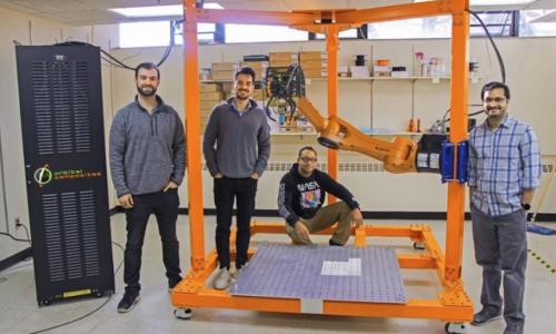 Orbital Composites delivers Orbital S robotic 3D printer to University of Minnesota