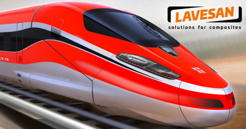 Lavesan composite structures of railway